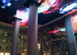 Liquid Sky 2012, interactive led panels, public commission Regeringsgatan, Stockholm