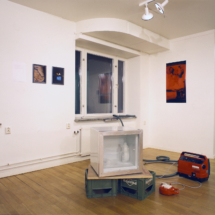 Sustained 1992, installation view